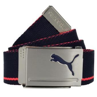 Thắt lưng Golf PUMA Web Belt- Peacoat-B.Plasma