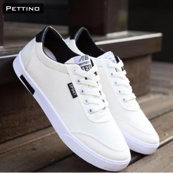 giày vải nam - PETTINO GV01 (TRẮNG)