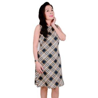 Đầm nữ trung niên Ugether UPAR24 (Sọc)