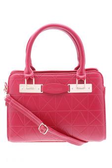 Túi đeo chéo nạm đinh xinh xắn Vinadeal A04 (Hồng)