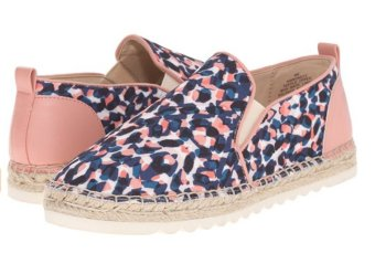 Giày lười nữ Nine West Women's Noney Canvas Ballet Flat