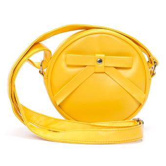 Túi nữ mini tròn Happy F MS.128.1 (Vàng)