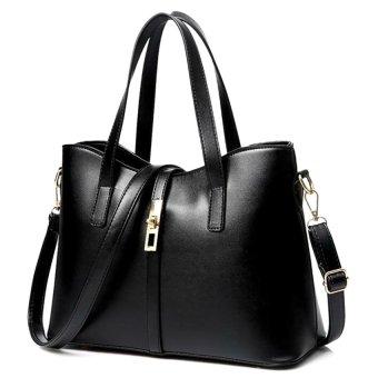 Túi xách nữ Queen kèm dây đeo Letin Fashion Handbags T6868-20-250 (Đen)