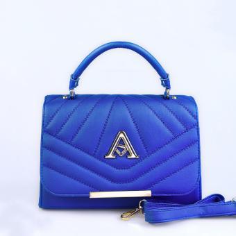Túi xách thời trang đeo chéo TXF-01ZE (màu xanhdương)
