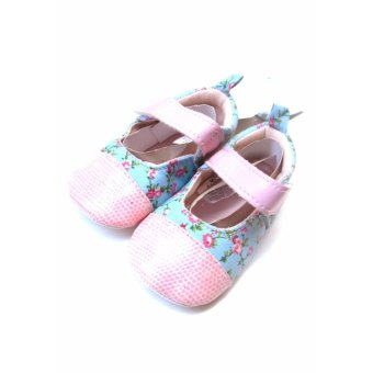 Giày bít mũi bé gái Luvable Friends 6-12M (Hồng)