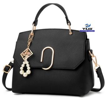 Túi đeo chéo thời trang Messenger phong cách Đồ Da Thành Long TLG 208154 1(đen)