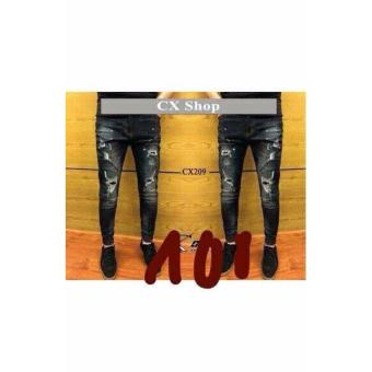 Quần Jeans nam trẻ trung, bụi bặm LyLyFashion ( đen)