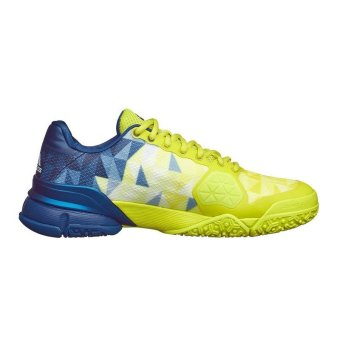 Giày Tennis Nam Adidas Barricade 2016 BA8386 (Vàng/Xanh)