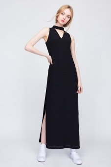 Đầm Candeblanc Cutout Long Black - S16V022