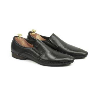 Giày lười nam LG103 Leoluxury (Đen)