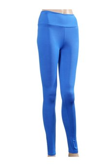 LALANG Women Leggings Pants Royal Blue - Intl