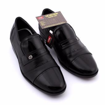 Giày tây nam Da Giày Việt Nam kiểu dáng bộ đội VNL6A79D-3 (đen)