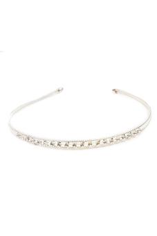 Fancyqube Bridal Bridesmaid Crystal Rhinestone Headbands Silver Tiaras Wedding Crown Sliver