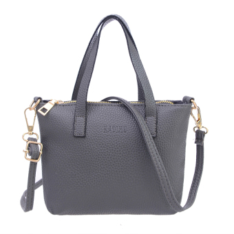 Women Messenger Bag Shoulder Bag (Gray) - intl