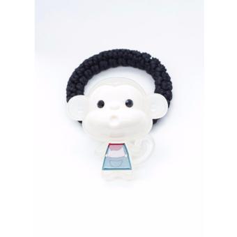 Cột tóc Aznavous Graine De Beaute phong cách Hàn Quốc màu trắng