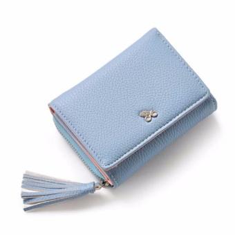 Bóp ví nữ thời trang Weichan chính hãng 577-2 Win Win Shop - Xanh