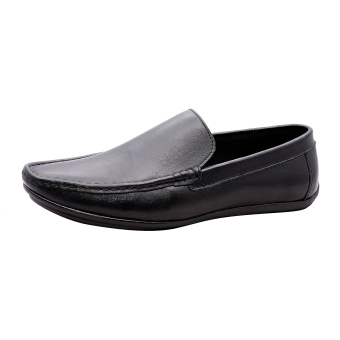 Giày nam da bò thật cao cấp Đen ESM15