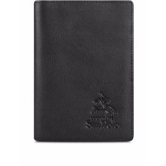 Ví PassPort Da Bò SunPoLo WS09D (Đen)