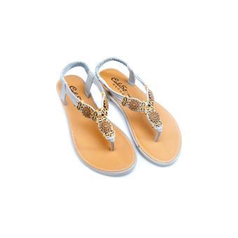 Giày xăng đan Lopez Cute D41 (Nâu Xám)