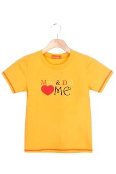 Áo thun ngắn tay bé gái V.T.A.Kids BG50401C3 (Cam)