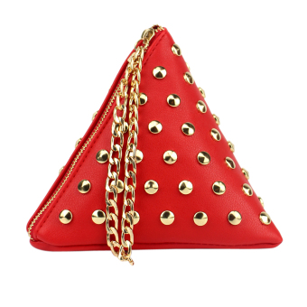 New Women Chain Shoulder Bags(Red) - intl