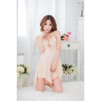Váy Ngủ Ren Bách Tiên CDAN22 Kim Phát (kem)