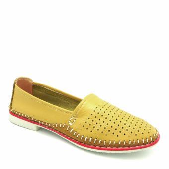 Giày đế bằng mũi tròn 333020-178-07 (vàng)