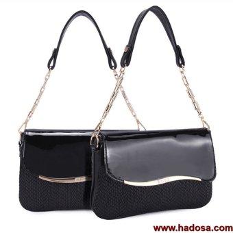 Bóp đầm nữ thời trang Hadosa Đen SJ1TS004