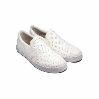 Giày Lười UM1703 Trắng