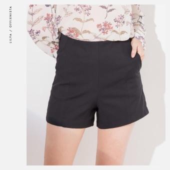 Quần Short 2 túi hông Lilya SS2017 (Đen)