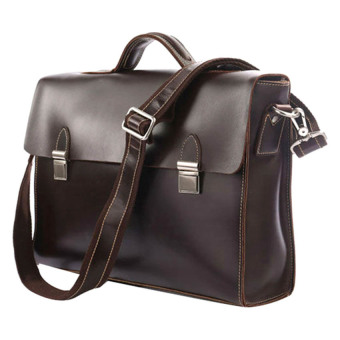 Túi công sở da thật KIKI Bags K08 (Nâu)