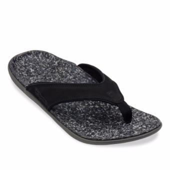 Dép sức khỏe hỗ trợ toàn diện đôi bàn chân, giảm đau mỏi chân Spenco Black Leather M39536