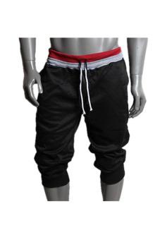 Harem Baggy Trousers (Black)