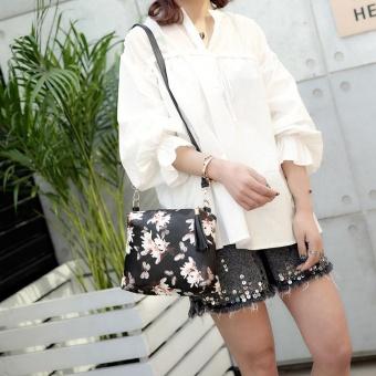 Women Solid Fashion Handbag Shoulder Bag Tote Ladies Purse BK - intl