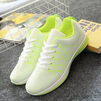 Giày thể thao nữ TT122 (Xanh neon)