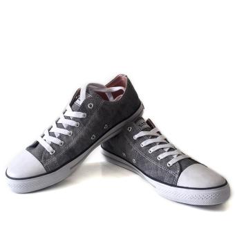 Giày sneaker nữ cổ thấp CODAD CANVAS KARO (Xám)