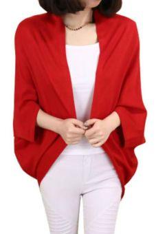 Áo cardigan nữ Family shop KN31 (đỏ)