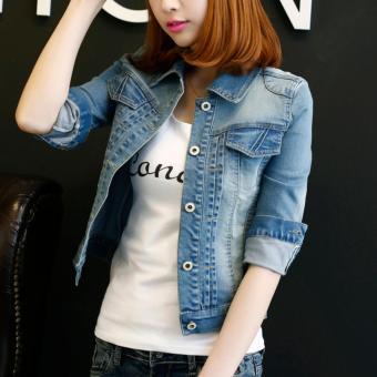 Áo khoác Jean thời trang nữ năng động AKJ-0002