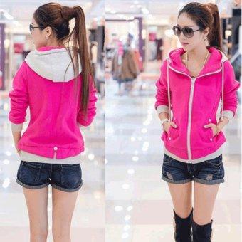 Áo Khoác Nữ Pink