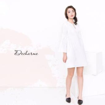 Đầm suông tay dài Xavia Clothes Decharme