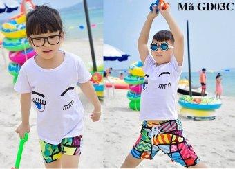 Áo phông đi biển trẻ em GD03C-M