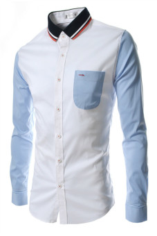 Reverieuomo CS32 Single Breasted Shirt White - Intl