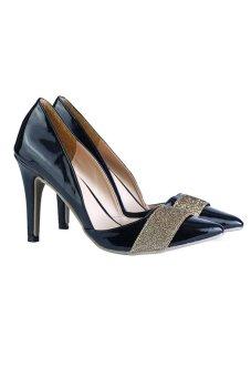 Giày cao gót nữ LARA HMF873 (Đen)