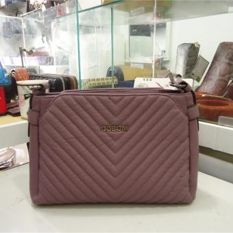Túi nữ da cao cấp DaH2 TN16033 (màu tím)