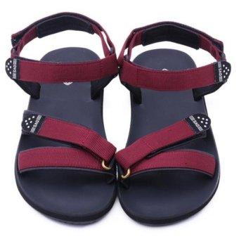 Giày Sandal nữ DVS - WF121 (Đỏ đô)