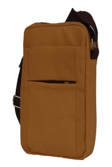HKS Mens Shoulder Bag (Brown) - intl