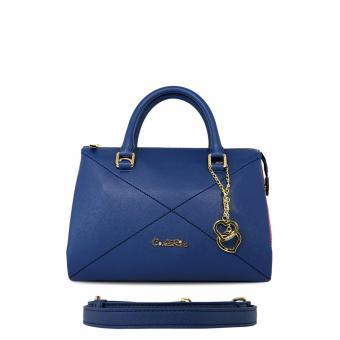 Túi xách tay đường chéo Carlo Rino 0303335-001-13 (xanh dương đậm)