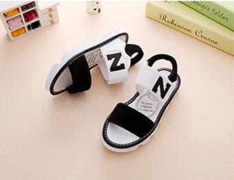 Giày sandal cho bé gái Z-82 (Đen)