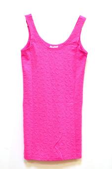Đầm thun Midu Fashion A02 (Hồng)
