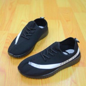 Giày sneaker nữ đế êm CTBB (đen)